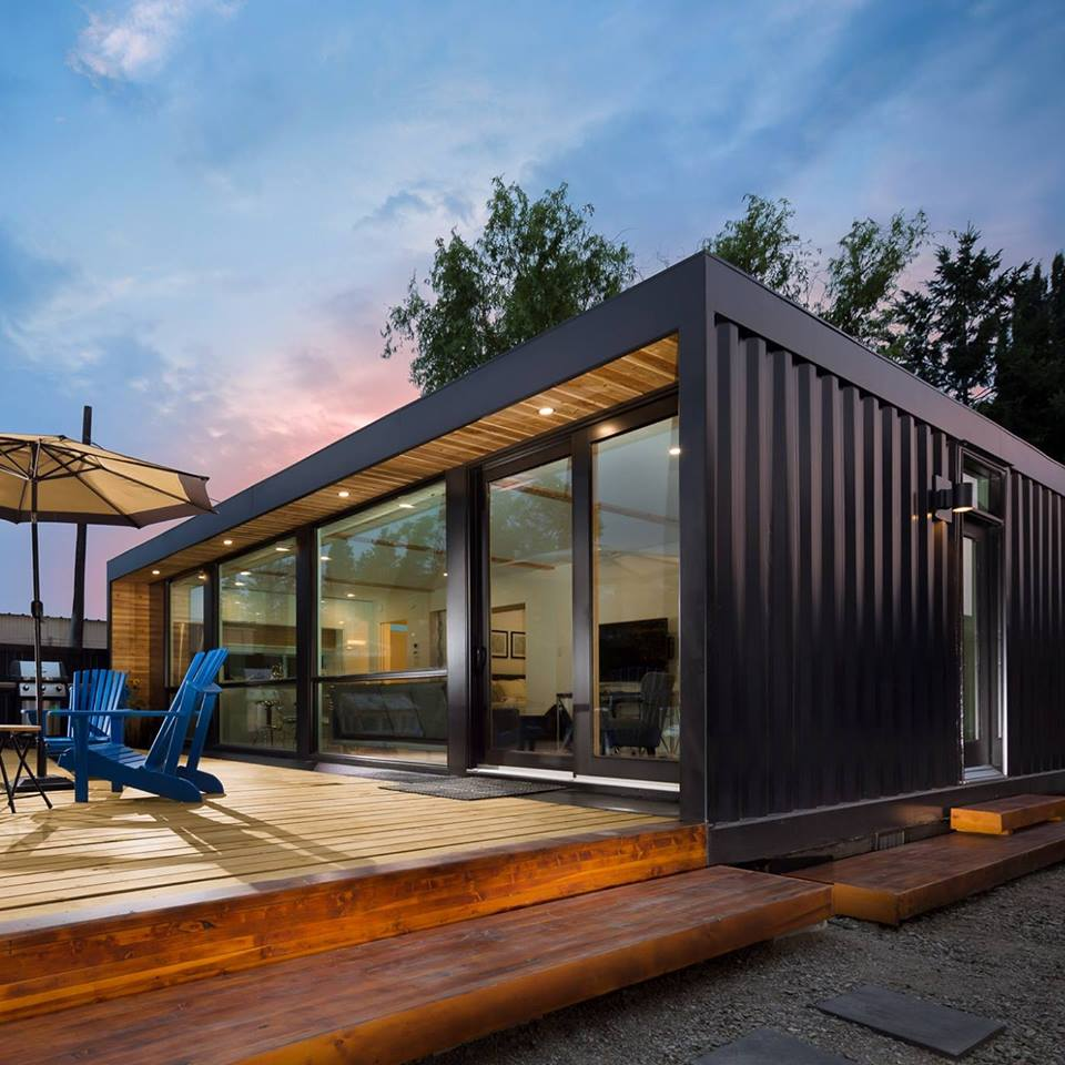 Cargo Shipping Container Homes: Luxury Modular Homes From Honomobo