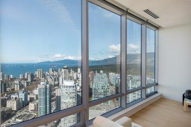shangri-la vancouver luxury condo view 1