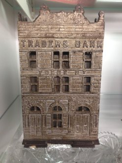 Cast Iron Traders Bank Toronto 1891 Antique 3