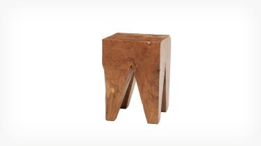 teak wood stool eq3 1