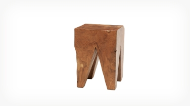 teak wood stool eq3 1