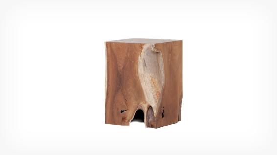 teak wood stool eq3 3