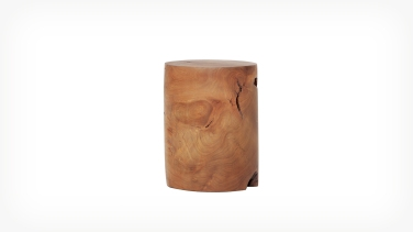 teak wood stool eq3 4