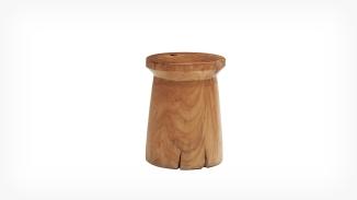 teak wood stool eq3 5