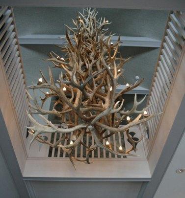 elk antler chandelier canada 3