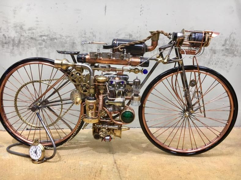 Steampunk Boardtracker 1
