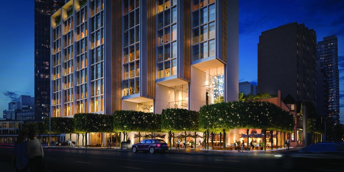 50 scollard toronto luxury condo development 2