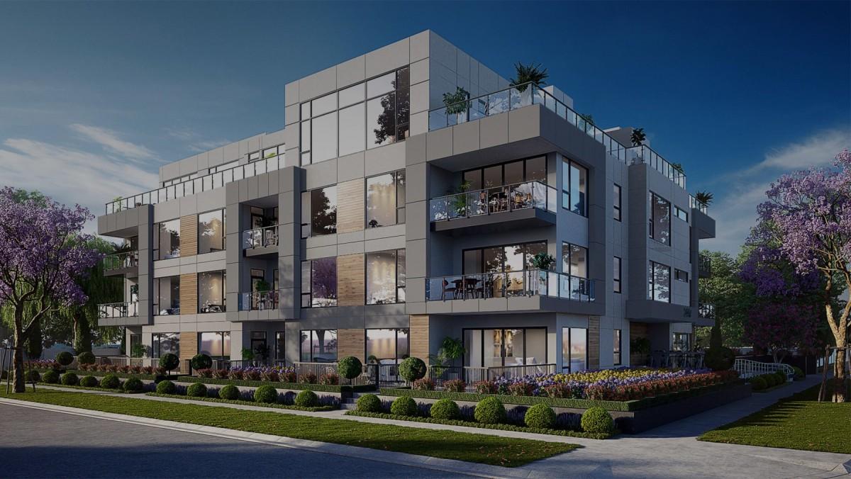 Seawind Condo Development Sidney Bc Luxury Residence