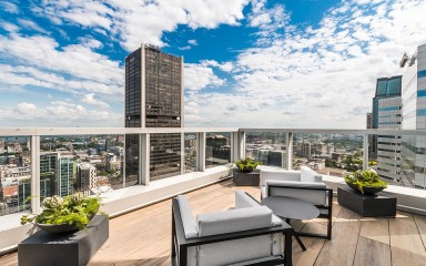 montreal penthouse view