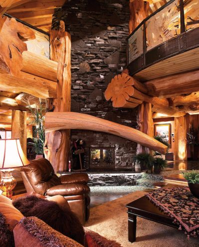 canada's most luxurious log cabin white spirit lodge 1