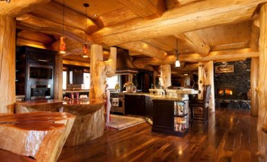 canada's most luxurious log cabin white spirit lodge 2