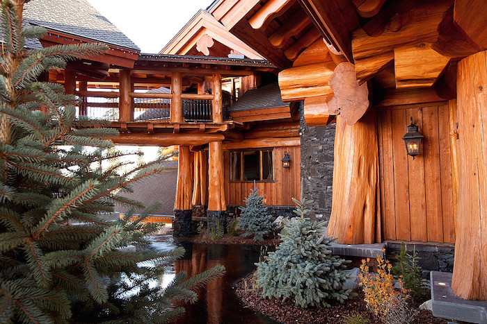 Canada S Most Luxurious Log Cabin White Spirit Lodge Is