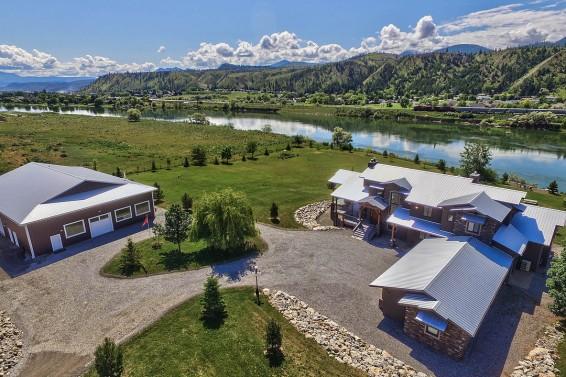 shuswap riverfront luxury home for sale 7