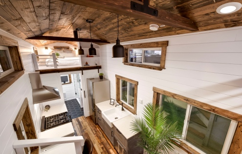 luxury tiny home made in canada mint 4