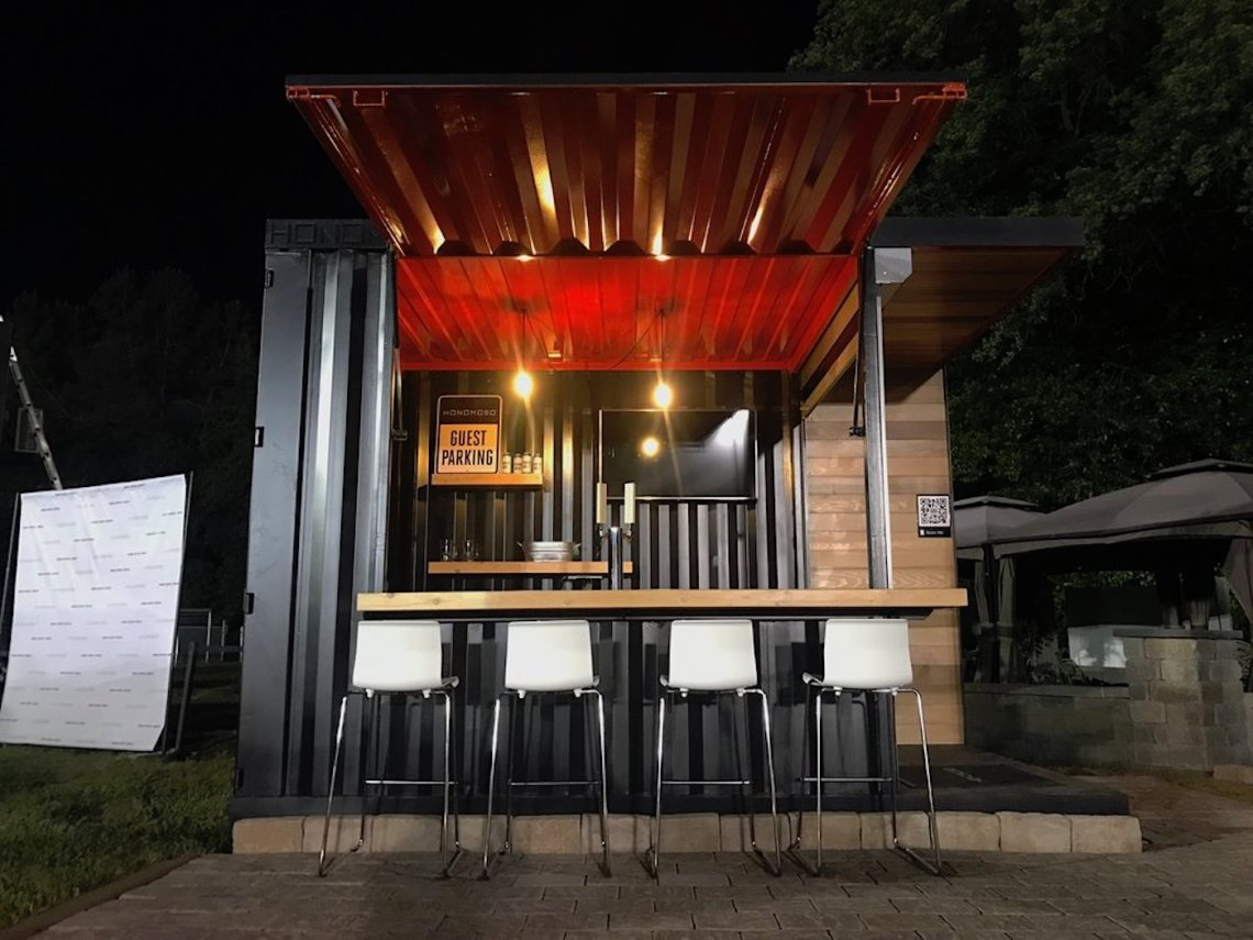 shipping container bar for your home