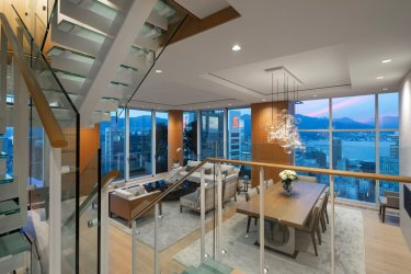 telus garden towers penthouse for sale vancouver 2