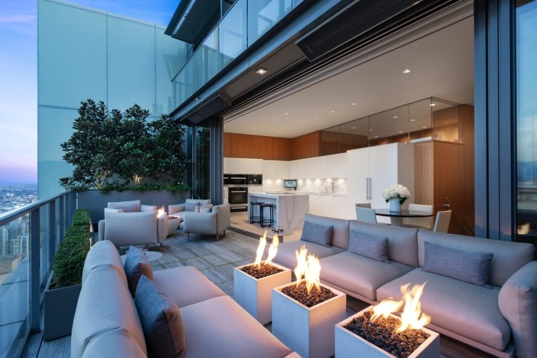 telus garden towers penthouse for sale vancouver 3