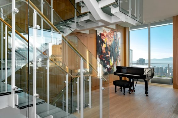 telus garden towers penthouse for sale vancouver 6