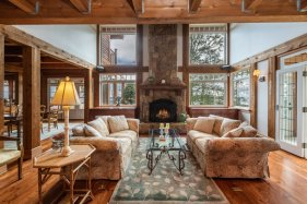 custom home on 34 acres salt spring island 5