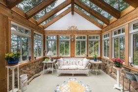 custom home on 34 acres salt spring island 6