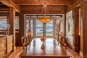 custom home on 34 acres salt spring island 7