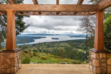 custom home on 34 acres salt spring island 8