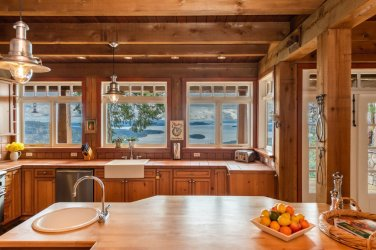 custom home on 34 acres salt spring island 9