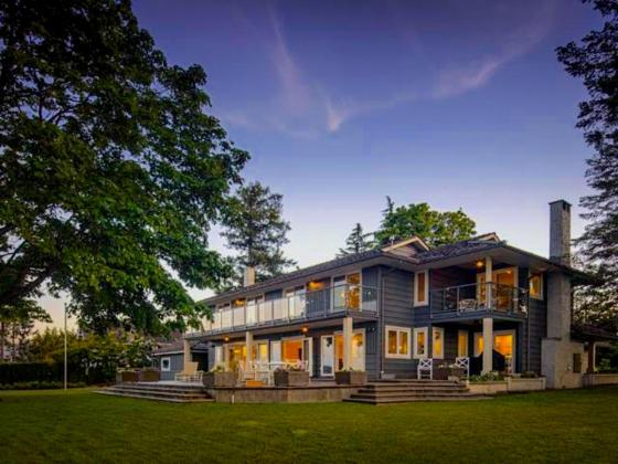 luxury oceanfront campbell river home for sale