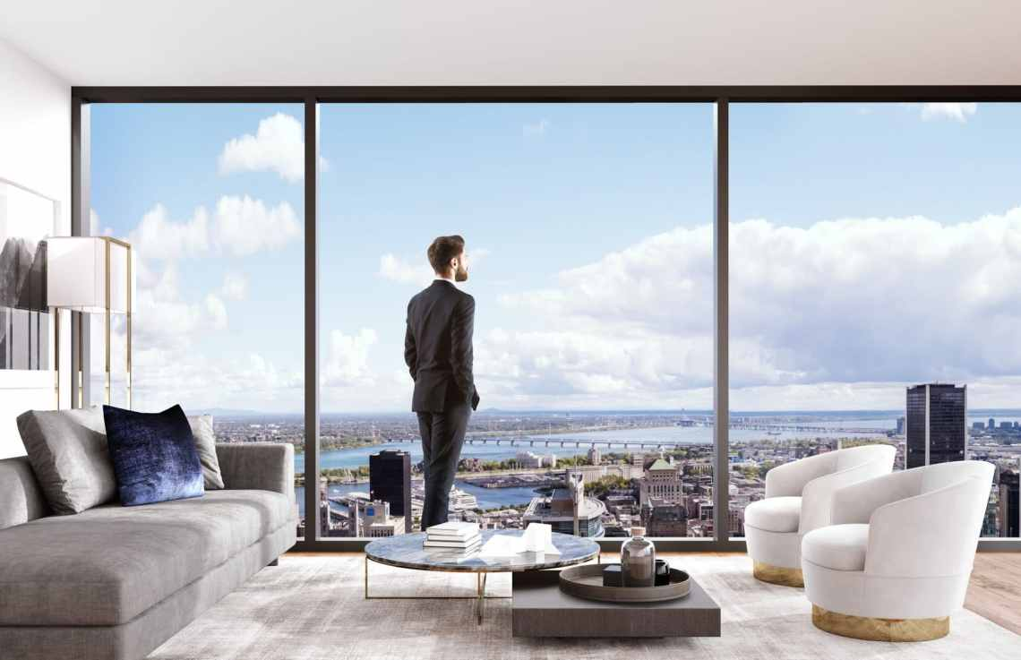 MAESTRIA Luxury Condo Development Montreal Views