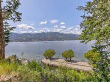 okanagan lakefront home for sale concrete swimming pool 1