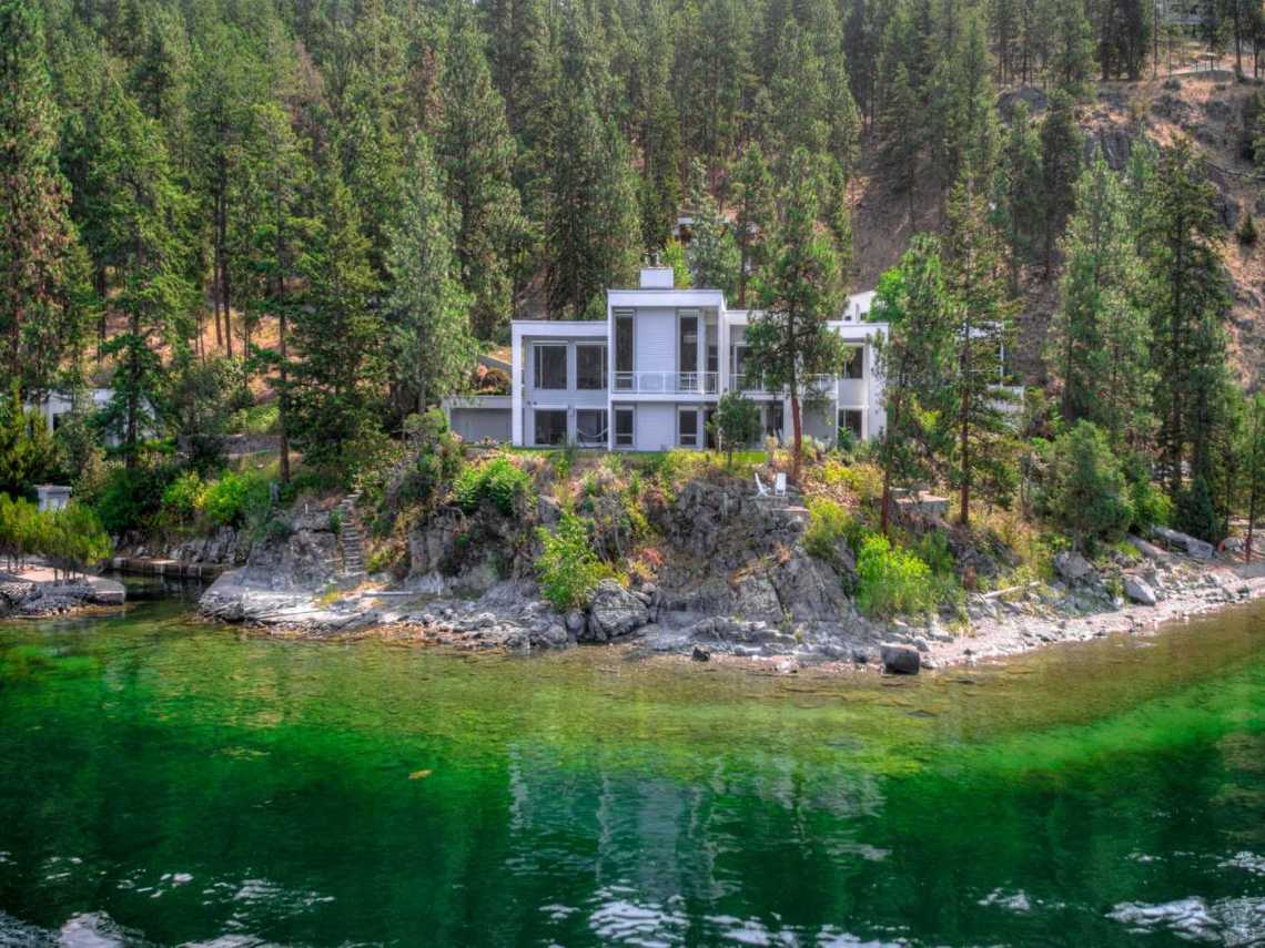 okanagan lakefront home for sale