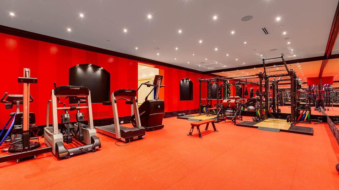 recycled nike gym floor saint george manor