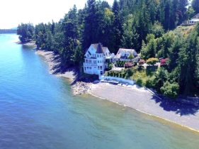 castle by the sea chemainus vancouver island
