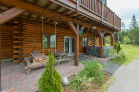 canada finest luxury log cabins for sale new bunswick 8