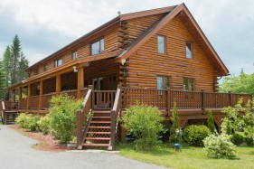 canada finest luxury log cabins for sale new bunswick 9